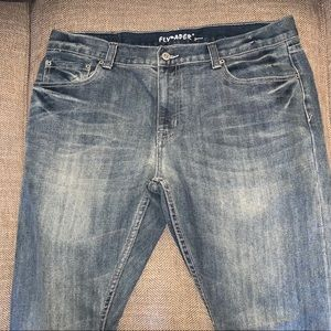 EUC Flypaper Straight Leg Jeans Size 38.